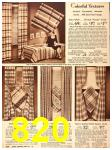 1940 Sears Fall Winter Catalog, Page 820