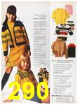 1967 Sears Fall Winter Catalog, Page 290