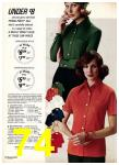 1975 Sears Fall Winter Catalog, Page 74