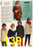 1962 Sears Fall Winter Catalog, Page 139