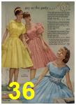 1960 Sears Spring Summer Catalog, Page 36