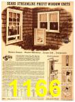 1940 Sears Fall Winter Catalog, Page 1166