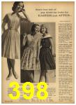 1962 Sears Spring Summer Catalog, Page 398