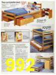 1988 Sears Fall Winter Catalog, Page 992