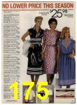 1984 Sears Spring Summer Catalog, Page 175