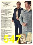 1976 Sears Fall Winter Catalog, Page 547