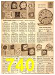 1949 Sears Spring Summer Catalog, Page 740