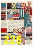 1958 Sears Spring Summer Catalog, Page 225