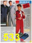 1986 Sears Fall Winter Catalog, Page 533