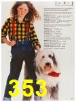 1987 Sears Fall Winter Catalog, Page 353