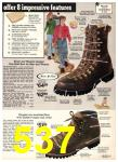 1976 Sears Fall Winter Catalog, Page 537
