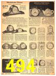 1942 Sears Spring Summer Catalog, Page 494