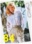 1985 Sears Fall Winter Catalog, Page 84