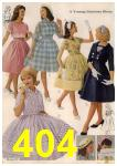 1961 Sears Spring Summer Catalog, Page 404