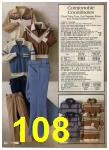 1980 Sears Fall Winter Catalog, Page 108