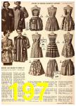 1949 Sears Spring Summer Catalog, Page 197