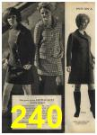 1968 Sears Fall Winter Catalog, Page 240