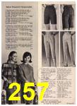 1965 Sears Fall Winter Catalog, Page 257