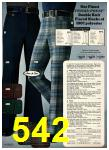 1975 Sears Fall Winter Catalog, Page 542