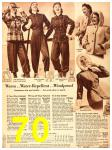 1940 Sears Fall Winter Catalog, Page 70