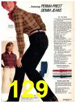 1977 Sears Fall Winter Catalog, Page 129
