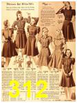 1940 Sears Fall Winter Catalog, Page 312