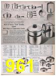 1957 Sears Spring Summer Catalog, Page 961