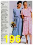 1988 Sears Spring Summer Catalog, Page 196