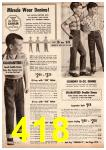 1962 Montgomery Ward Spring Summer Catalog, Page 418