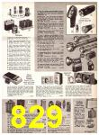 1969 Sears Fall Winter Catalog, Page 829