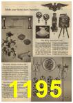 1961 Sears Spring Summer Catalog, Page 1195