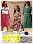 1981 Sears Spring Summer Catalog, Page 409