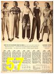 1949 Sears Spring Summer Catalog, Page 57