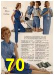 1960 Sears Spring Summer Catalog, Page 70