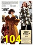 1975 Sears Fall Winter Catalog, Page 104