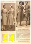 1958 Sears Spring Summer Catalog, Page 54