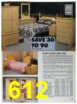 1991 Sears Fall Winter Catalog, Page 612