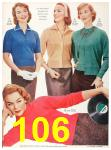 1956 Sears Fall Winter Catalog, Page 106