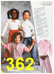 1985 Sears Fall Winter Catalog, Page 362