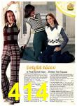 1974 Sears Fall Winter Catalog, Page 414