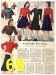 1940 Sears Fall Winter Catalog, Page 69