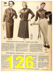 1956 Sears Fall Winter Catalog, Page 126