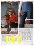 1985 Sears Fall Winter Catalog, Page 141
