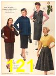 1956 Sears Fall Winter Catalog, Page 121