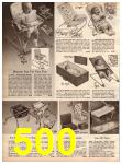 1966 Montgomery Ward Fall Winter Catalog, Page 500