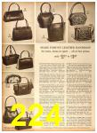 1958 Sears Fall Winter Catalog, Page 224