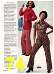 1974 Sears Fall Winter Catalog, Page 74