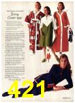 1971 Sears Fall Winter Catalog, Page 421