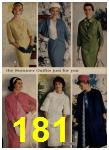1962 Sears Spring Summer Catalog, Page 181