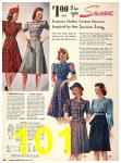 1940 Sears Fall Winter Catalog, Page 101
